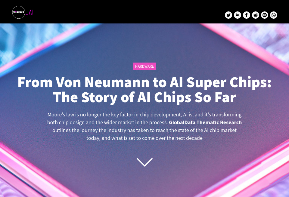 From Von Neumann to AI Super Chips: The Story of AI Chips So